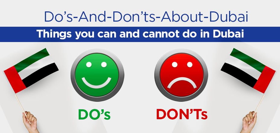Do's and don'ts about dubai