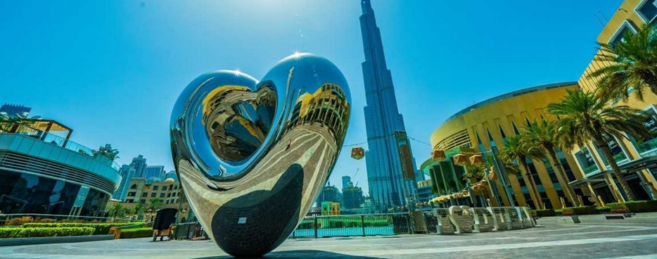 Heart Sculpture in Dubai