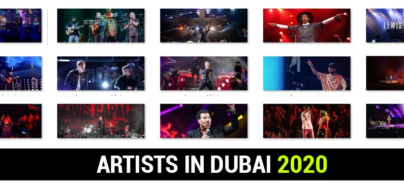 Artists in Dubai 2020